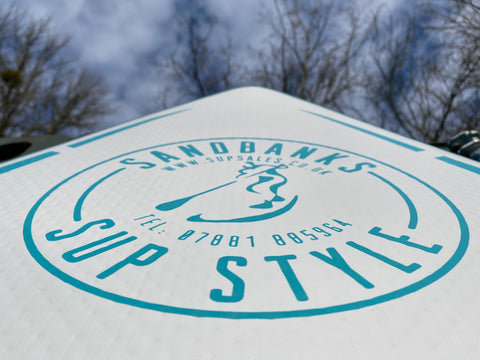 Try out a Sandbanks SUP before you buy!