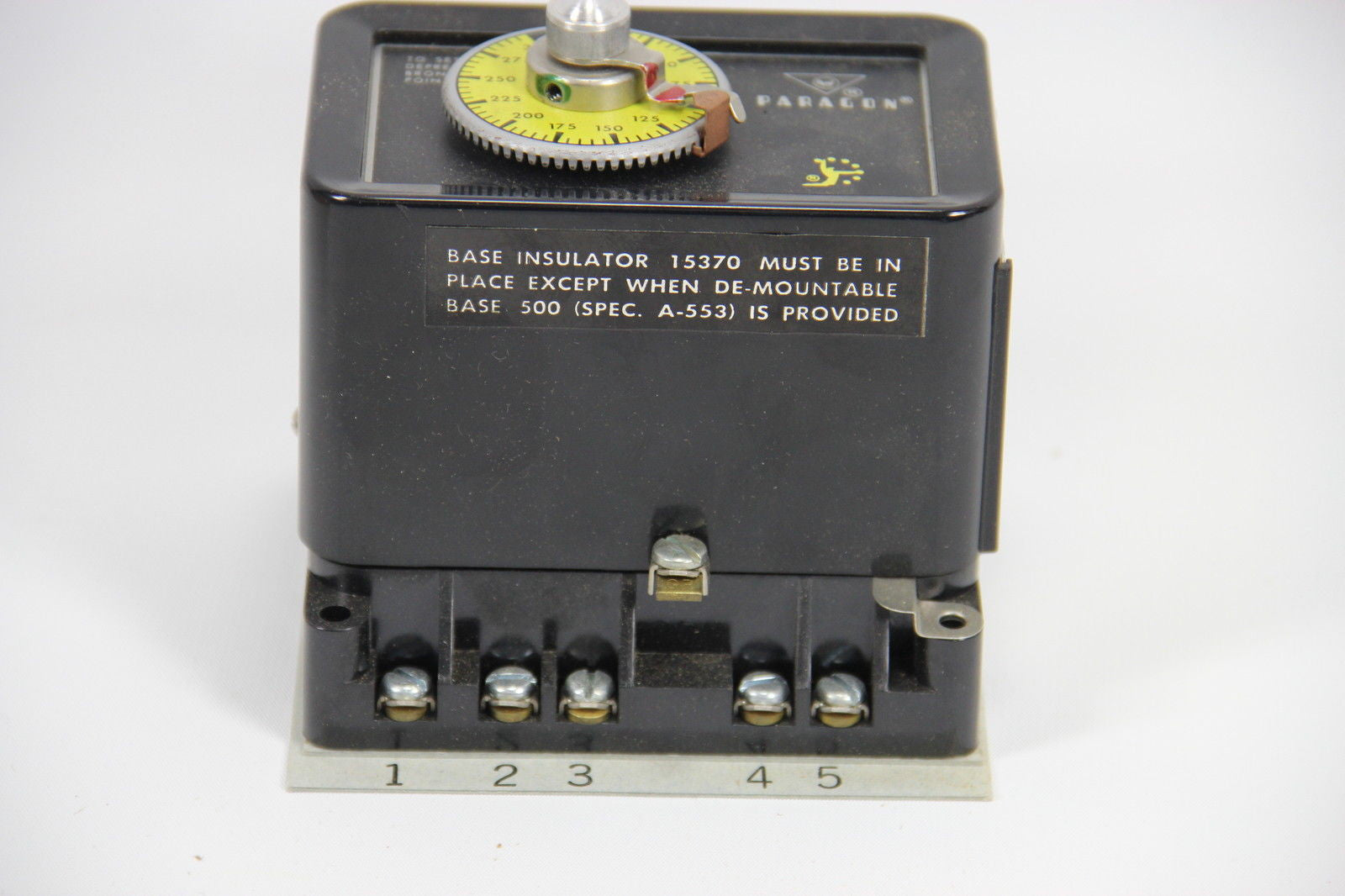 AMF Paragon 502-142-3 Off Delay Timer Automatic Reset Timing Motor ...