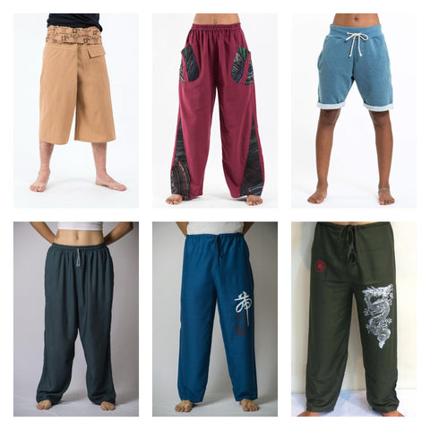 Thai Harem Pants Yoga Pants and Fisherman Pants