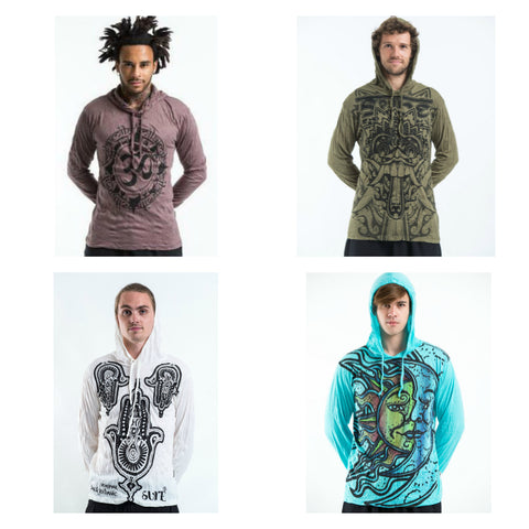 Sure Design Mens Hoodies
