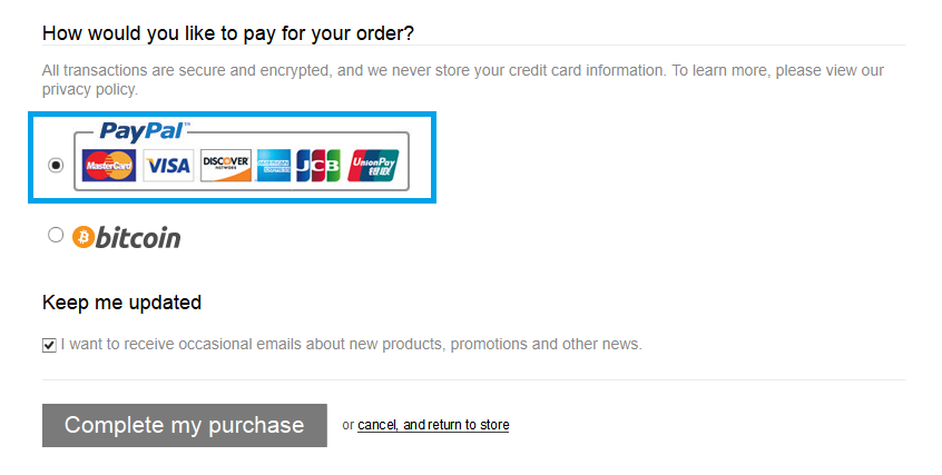 Shop with PayPal Credit (US Customers Only) – Sure Design Wholesale
