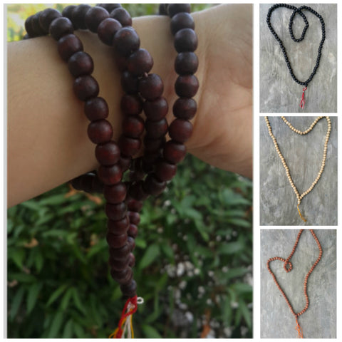 Assorted set of 5 Tibetan Bodhi Seed Mala Beads Necklace Or Bracelet