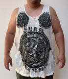 Wholesale Sure Design Men's Big Ohm Tank Top White - $8.50
