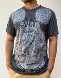 Wholesale Sure Design Men's Big Ohm T-Shirt Silver on Black - $8.50