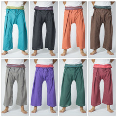 Assorted set of 5 Thai Pinstripe Fisherman Pants