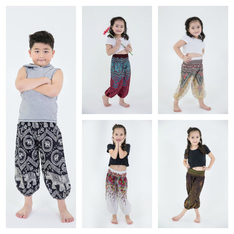 Assorted set of 10 Kids Harem Pants