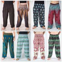 Assorted set of 5 Thai High Crotch Harem Pants BESTSELLER
