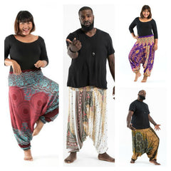 Assorted set of 10 Plus Size Thai Jumpsuit Harem Pants BESTSELLER