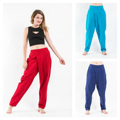 Assorted set of 6 Pleated Casual Harem Pants