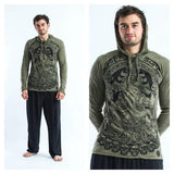 Wholesale Sure Design Unisex Batman Ganesh Hoodie Green - $12.00