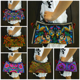Wholesale Assorted set of 10 Thai HandMade Hmong Shoulder Bags - $59.00