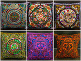 Wholesale Assorted set of 10 NEW Throw Pillow Covers made from Thai Hill Tribe Material - $70.00