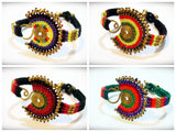 Wholesale Assorted set of 10 Thai Hmong Tribal Bracelets Large - $60.00