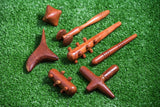 Wholesale Assorted set of 7 Thai Wooden Massage Tools Face Body Feet - $14.00