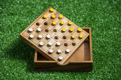 Wooden Game Checkers