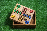 Wholesale Wooden Game Ludo - $8.00