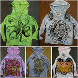 Wholesale Assorted set of 10 Sure Design Super Soft Cotton Kids Hoodies - $90.00