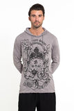 Wholesale Sure Design Unisex Octopus Oracle Hoodie Gray - $12.00