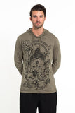 Wholesale Sure Design Unisex Octopus Oracle Hoodie Green - $12.00