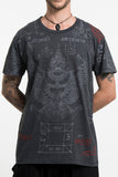 Wholesale Mens Garuda Tattoo T-Shirt in Black - $8.50