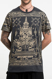 Wholesale Mens Guardian Demon Tattoo T-Shirt in Black - $8.50