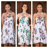Wholesale Assorted Set of 3 Butterfly Print Mini Dress - $27.00