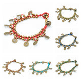 Wholesale Assorted set of 10 Beautiful Hand Made Brass Bracelet with Chinese Coins - $35.00