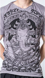 Wholesale Sure Design Men's Batman Ganesh T-Shirt Gray - $8.50