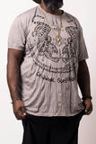 Wholesale Sure Design Men's Thai Tattoo T-Shirt Gray - $11.00
