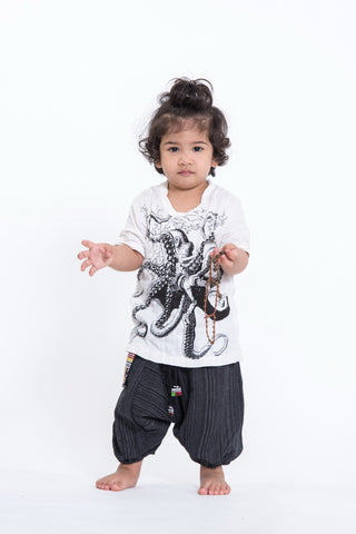 Sure Design Kids Octopus T-Shirt White