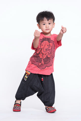 Sure Design Kids Baby Ganesha T-Shirt Red