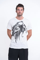 Sure Design Men's Indian Chief T-Shirt White