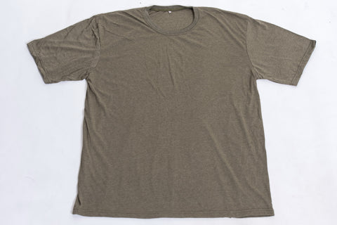 Solid Color Super Soft Cotton T-Shirt in Olive