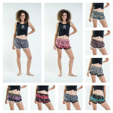 Wholesale Assorted set of 5 Super Light Pom Pom Shorts - $21.20