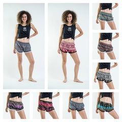 Assorted set of 10 Super Light Pom Pom Shorts