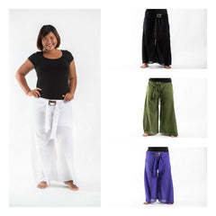 Assorted set of 10 Plus Size Organic Cotton Wide Leg Yoga Pants