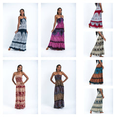 Assorted set of 10 Maxi Dresses