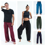 Wholesale Assorted set of 5 Solid Color Harem Pants - $45.00