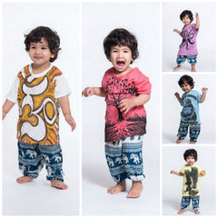 Assorted set of 10 Sure Design Super Soft Cotton Kids T-Shirts