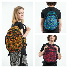 Assorted set of 3 Embroidered Hill Tribe Backpack