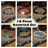 Wholesale Assorted 10 Piece Set Fair Trade Hand Made Bracelet - $18.00