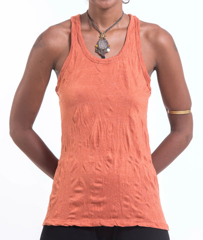 Sure Design Women's Blank Tank Top Orange
