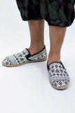 Wholesale White Mandala Print Slip On Shoes - $12.50