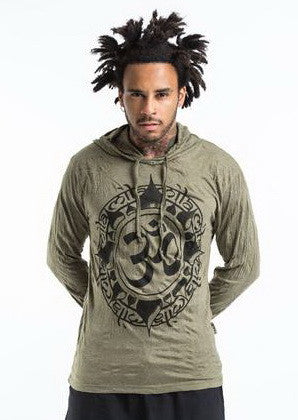 Sure Design Unisex Infinitee Ohm Hoodie Green