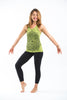 Sure Design Women's Lotus Mandala Tank Top Lime