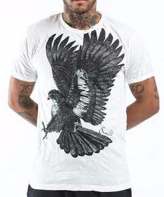 Sure Design Men's Eagle T-Shirt White