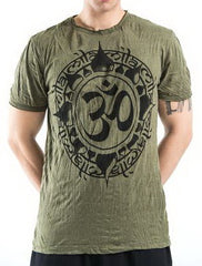 Sure Design Men's Infinitee Ohm T-Shirt Green