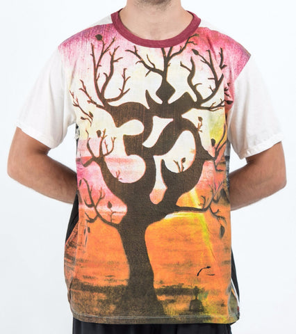 Sure Design Men's Ohm Tree T-Shirt White