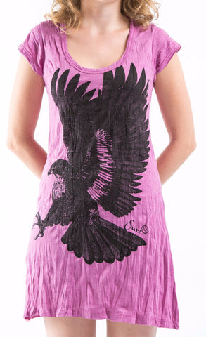 Sure Design Women's Eagle Dress Pink