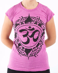 Sure Design Women's Infinitee Ohm T-Shirt Pink